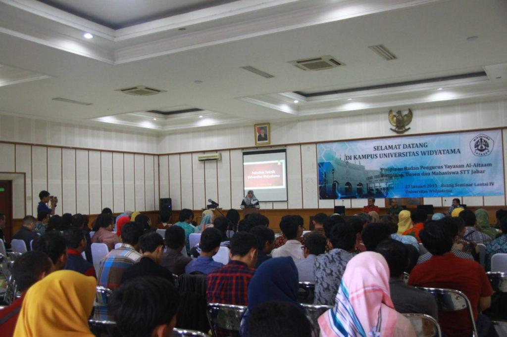 IMG 9464 1024x682 - Yayasan Widyatama Telah Mengalih Kelola Sekolah Tinggi Teknologi Jawa Barat (STT JABAR)