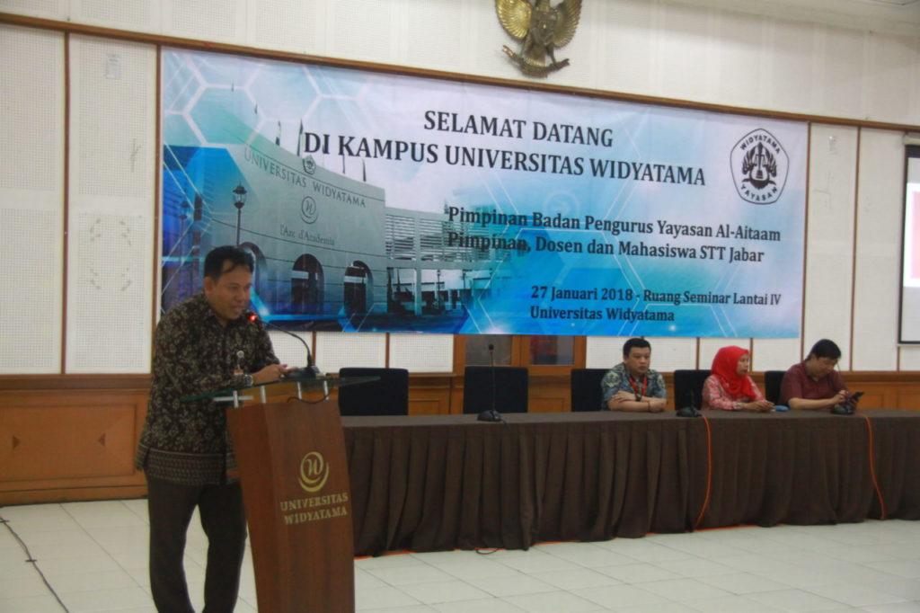 IMG 9474 1024x682 - Yayasan Widyatama Telah Mengalih Kelola Sekolah Tinggi Teknologi Jawa Barat (STT JABAR)