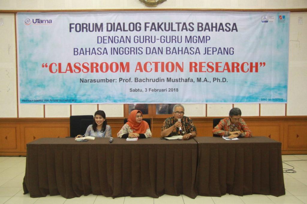 IMG 9537 1024x682 - Fakultas Bahasa Universitas Widyatama Selenggarakan Forum Dialog dengan Musyawarah Guru Mata Pelajaran tingkat SMA/SMK