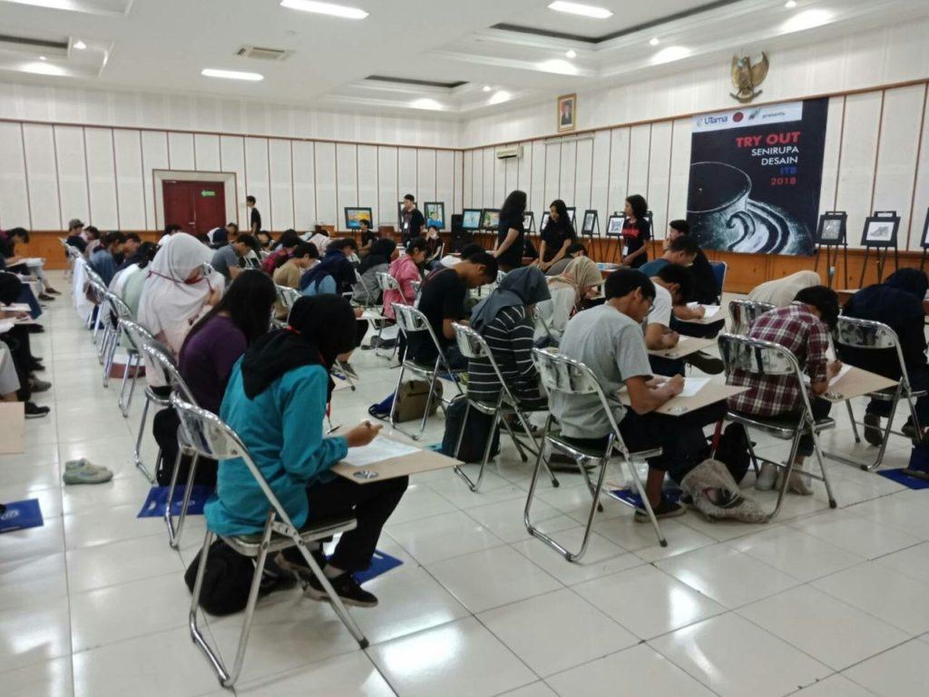 Universitas Widyatama membekali Siswa-Siswi Menuju Seleksi Seni Rupa ITB