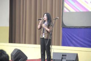 Devy Mawarnie Sambutan SMA BPI 1