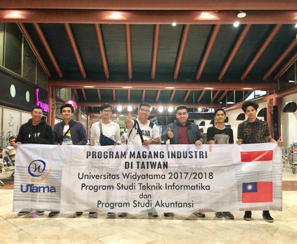 上山大学の20名以上の学生が台湾留学とインターンシップに参加