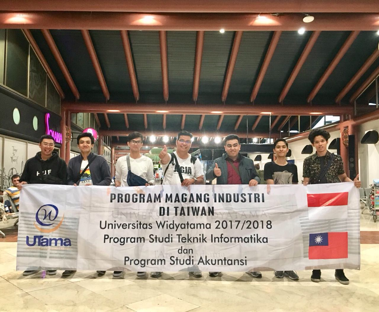 Lebih dari 20 Mahasiswa Universitas Widyatama Mengikuti Program Study Abroad dan Internship di Taiwan