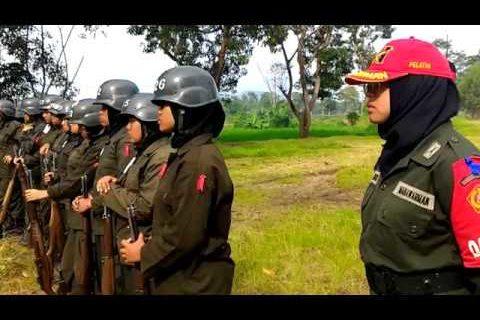 Latihan Militer MENWA Universitas Widyatama