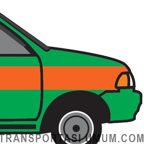 Angkot Cicaheum Ciroyom - Transportasi Kota Bandung