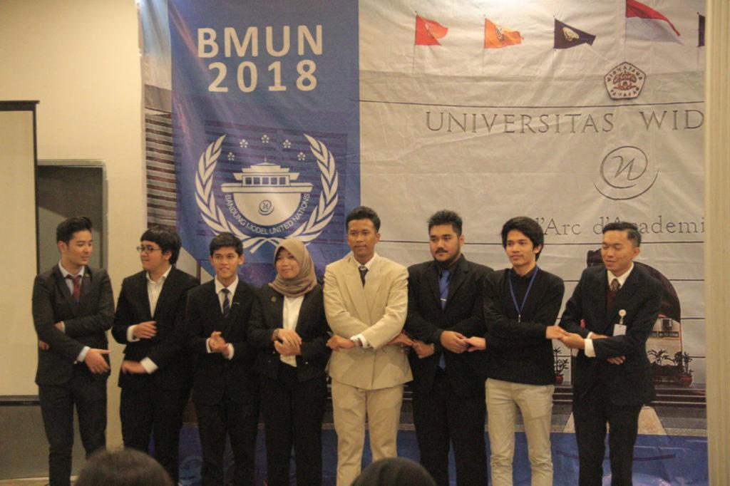 Puluhan delegasi dari 8 Perguruan Tinggi di Indonesia hadiri Bandung Model United Nations (BMUN) 2018 di Universitas Widyatama
