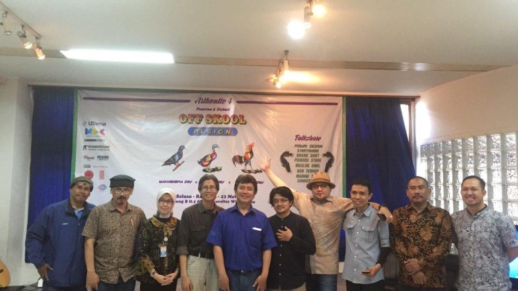 Pameran Kolaborasi Karya Mahasiswa dan Sharing Pengalaman Alumni Fakultas DKV Widyatama