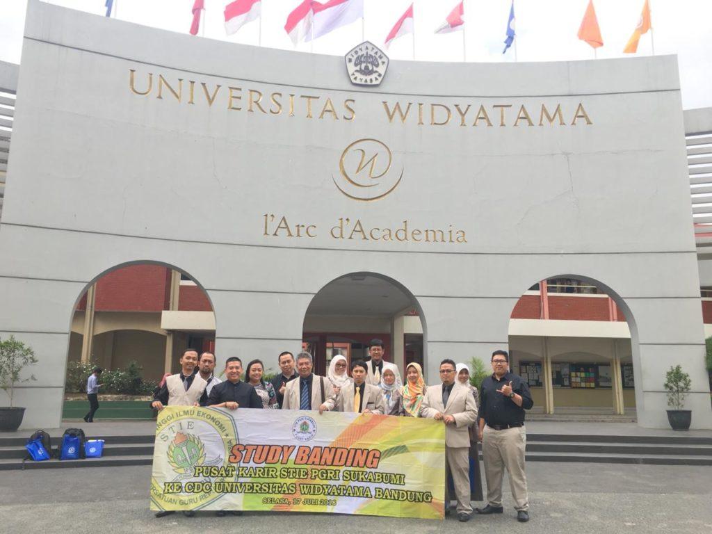 Career Center Widyatama Menerima Studi Banding dari STIE PGRI Sukabumi