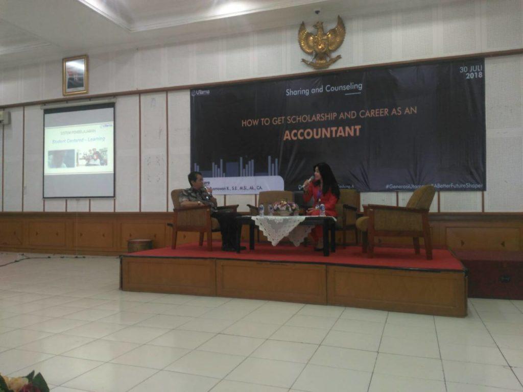 "Fakultas Ekonomi Widyatama Selenggarakan Sharing & Counseling ""Accounting Is Fun"""