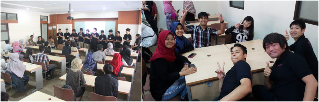 Mahasiswa Jepang 1024x327 - Program Studi S1 Bahasa Jepang Widyatama mengadakan  kerja sama Exchange Cultural Activity dengan Watanabe Shouji Holding Company dan Wata Sunrise Indonesia.