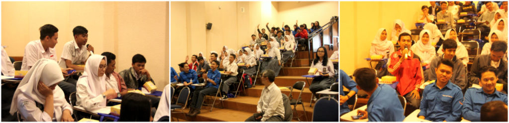 Q A 1024x248 - Universitas Widyatama Menerima Kunjungan Studi Banding Kewirausahaan dari SMAN 1 Soreang