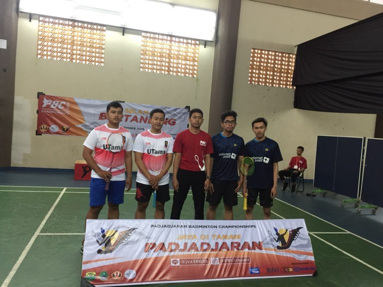 UKM Bulutangkis Padjadjaran Badminton Championship PBC 2018 2 768x575 - Atlet Bulutangkis Universitas Widyatama Berprestasi Juara 3 Pada 'Padjadjaran Badminton Championship (Pbc) 2018'