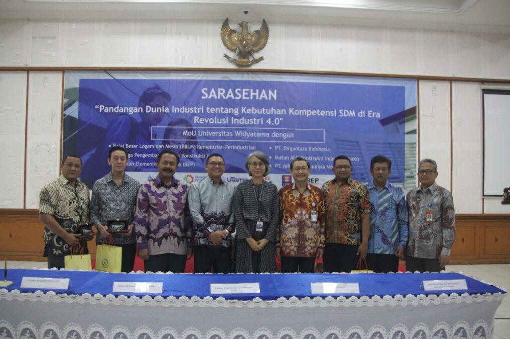Sarasehan Fakultas Teknik Universitas Widyatama & Penandatanganan MoU Dengan Berbagai Industri