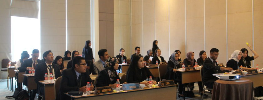 Widyatama Re-organized Simulations of the United Nations (UN) session