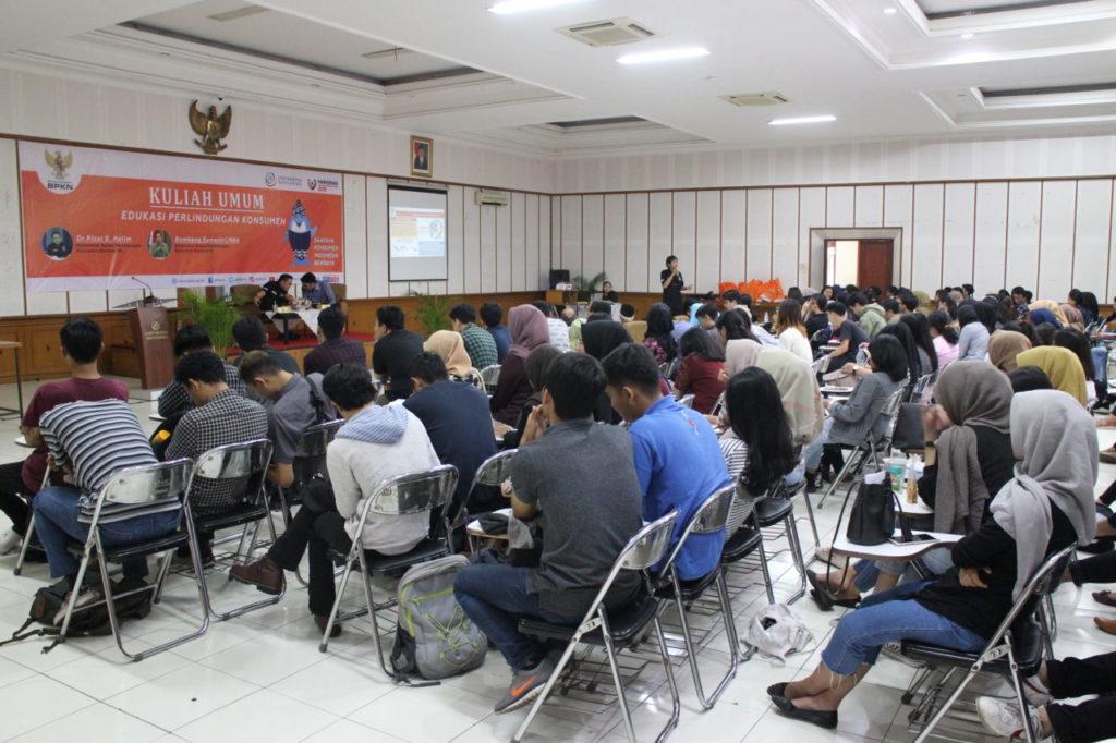 Peringati Harkonas 2019, BPKN Beri Kuliah Umum 11 PT di Bandung