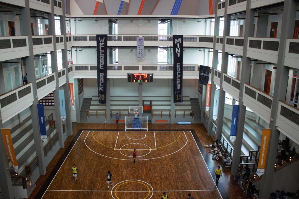 Lapangan PKM 1024x682 - Gedung Pusat Kegiatan Mahasiswa