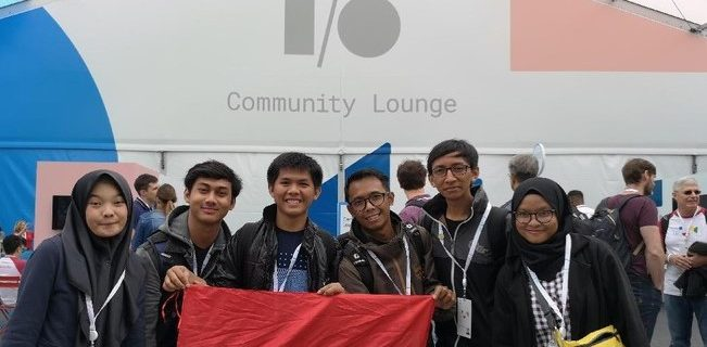 3 Student Developers from Indonesia Followed Google I/O in USA