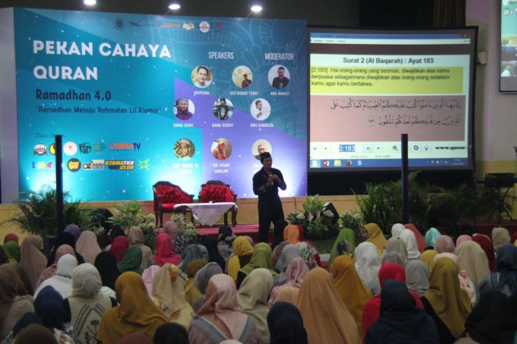 Pekan Cahaya Qur'an VI: Semarak Ramadhan 1440 H di Universitas Widyatama