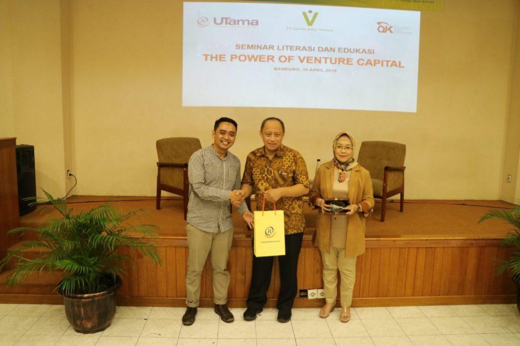 "Kuliah Umum Prodi Manajemen S1 ""The Power of Venture Capital"""