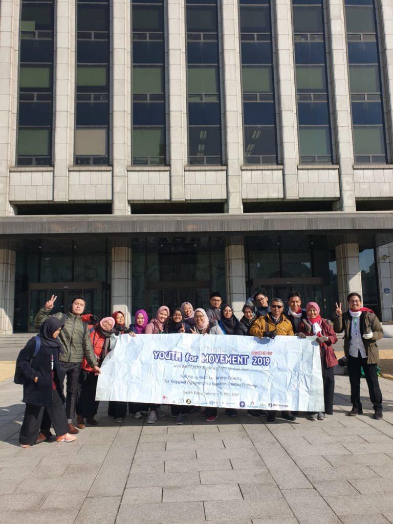 asean korea network office 768x1024 - Mahasiswa Widyatama Ikuti Program Youth for Movement (Y4M) di Korea