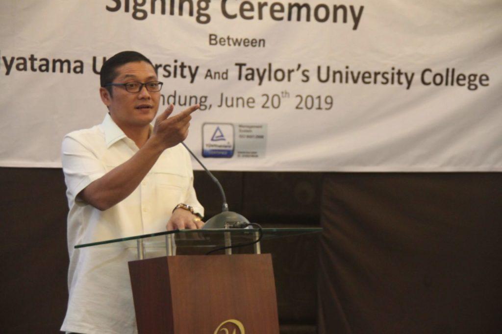 IMG 4461 1024x682 - Penandatanganan MoU Antara Universitas Widyatama dengan Taylor's University Malaysia