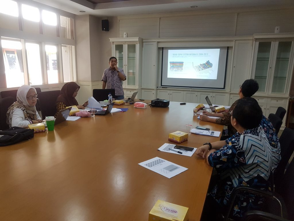 Workshop on the preparation of a Research Roadmap for Information Systems Study Program