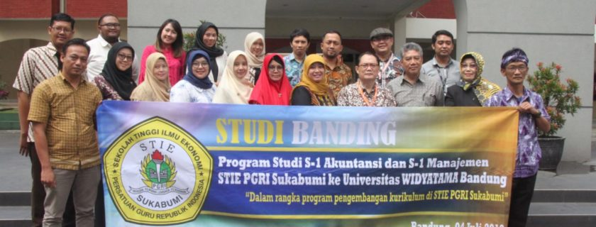Universitas Widyatama Terima Kunjungan STIE PGRI Sukabumi
