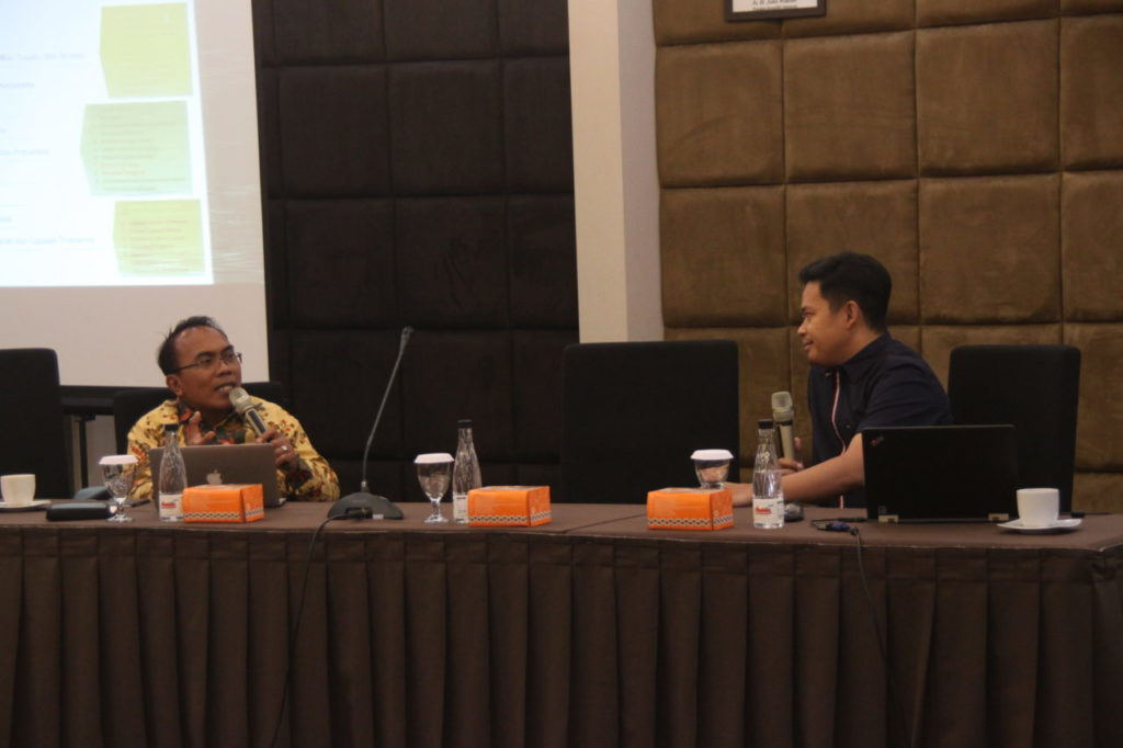 Widyatama University and Foundation conducted a workshop on Preparation of Higher Education Accreditation Forms