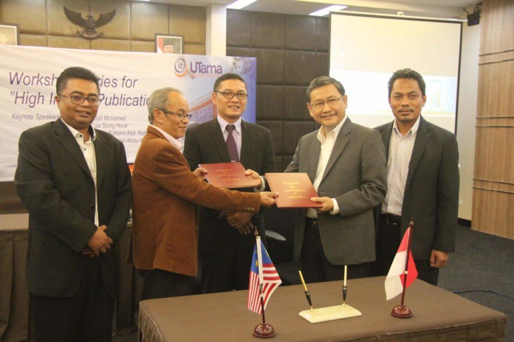 Widyatama Jalin Kerjasama Bidang Penelitian dengan Perguruan Tinggi Universiti Putra Malaysia