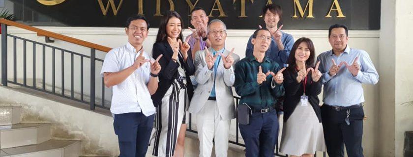 Miss Heritage Japan Sengaja Datang ke Widyatama, Ternyata Ini Tujuannya
