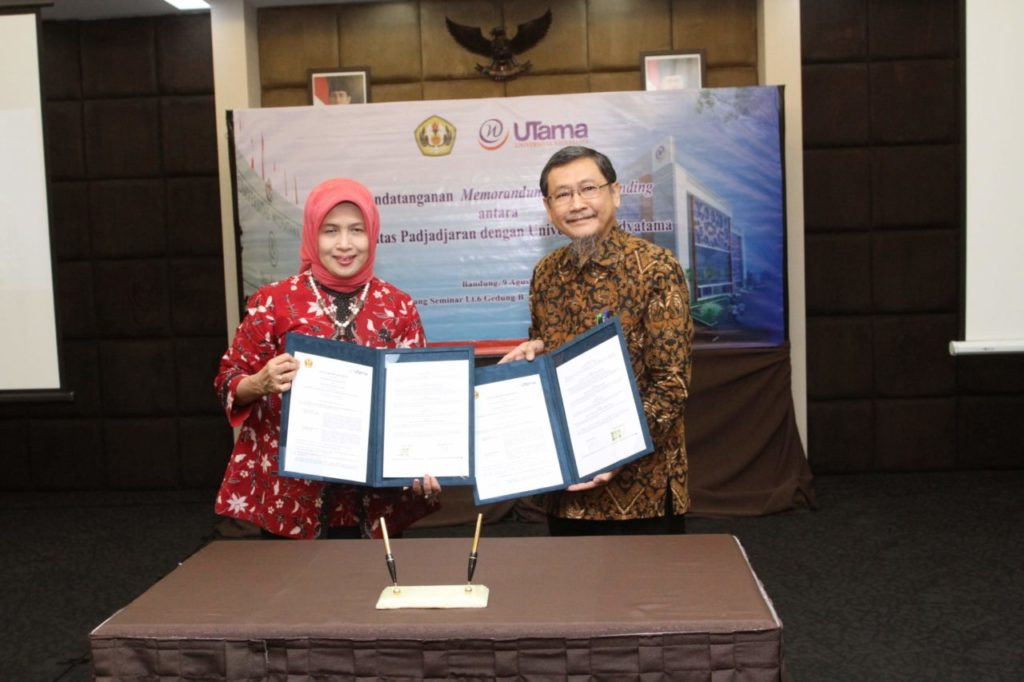 Widyatama University and UNPAD Establish Intimacy Through MoU