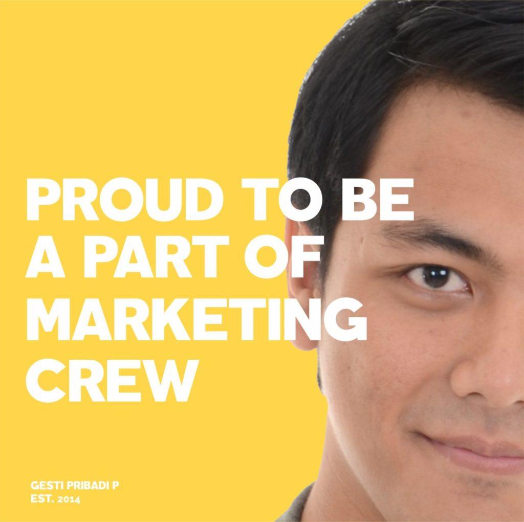 hiring Marketing crew 2019