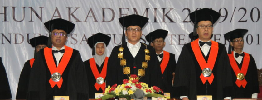 Sidang Senat Pelantikan Mahasiswa Baru Tahun Akademik 2019/2020