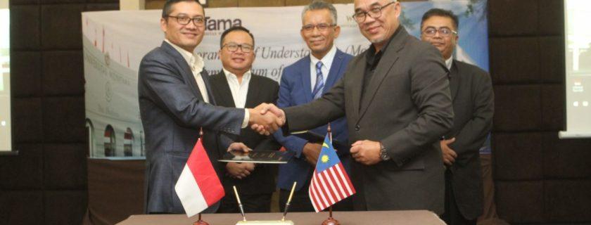 Universitas Widyatama bekerjasama dengan Widad University College