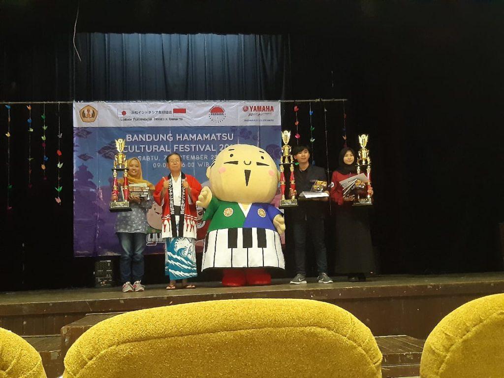 Mahasiswa Widyatama Raih Juara 1 Speech Contest Bandung Hamamatsu Festival 2019