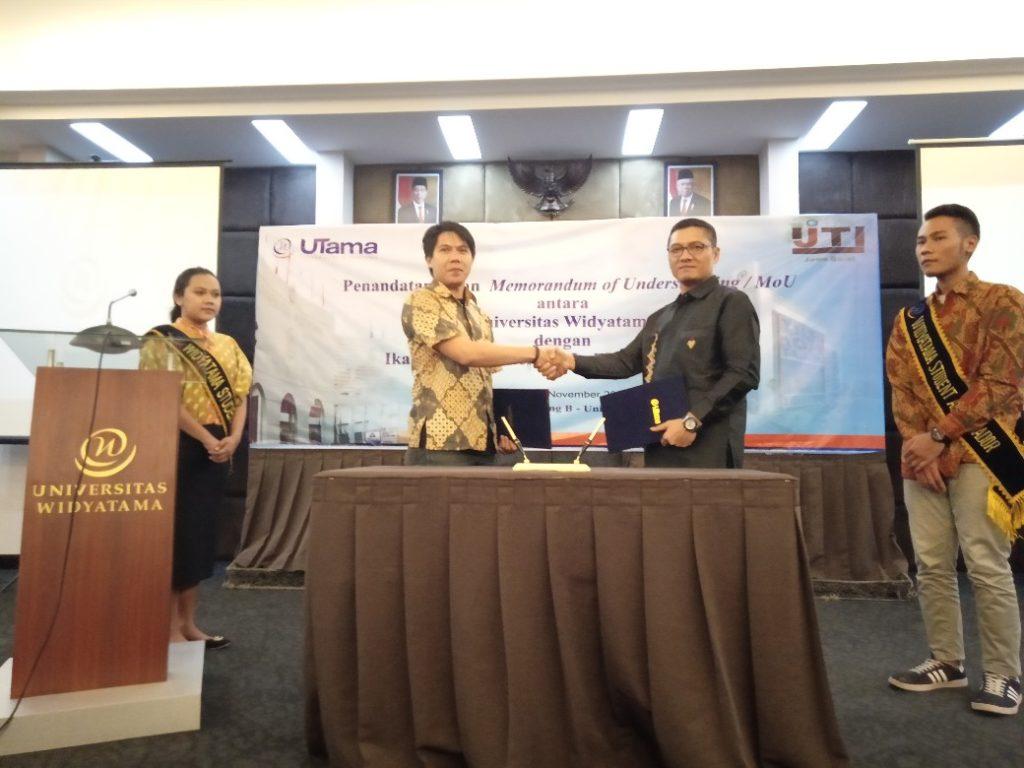 Universitas Widyatama Melakukan MoU Dengan Ikatan Jurnalis Televisi Indonesia