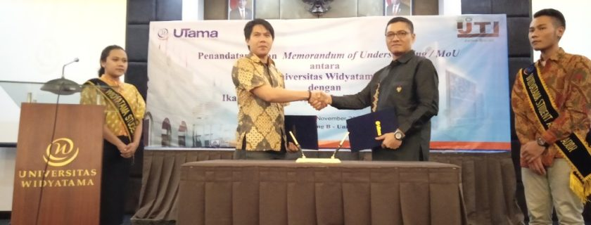 Widyatama University Signs MoU with Indonesian Television Journalists Association