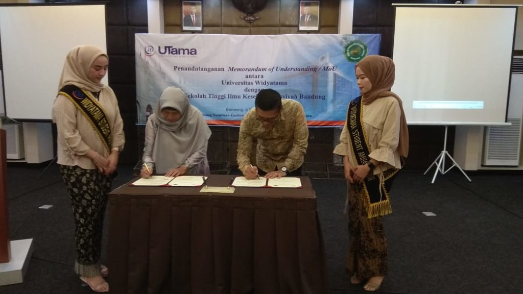 IMG 20191205 WA0037 1024x576 - Tingkatkan Kualitas, STIKES Aisyiyah Bandung Melakukan MoU Dengan Universitas Widyatama