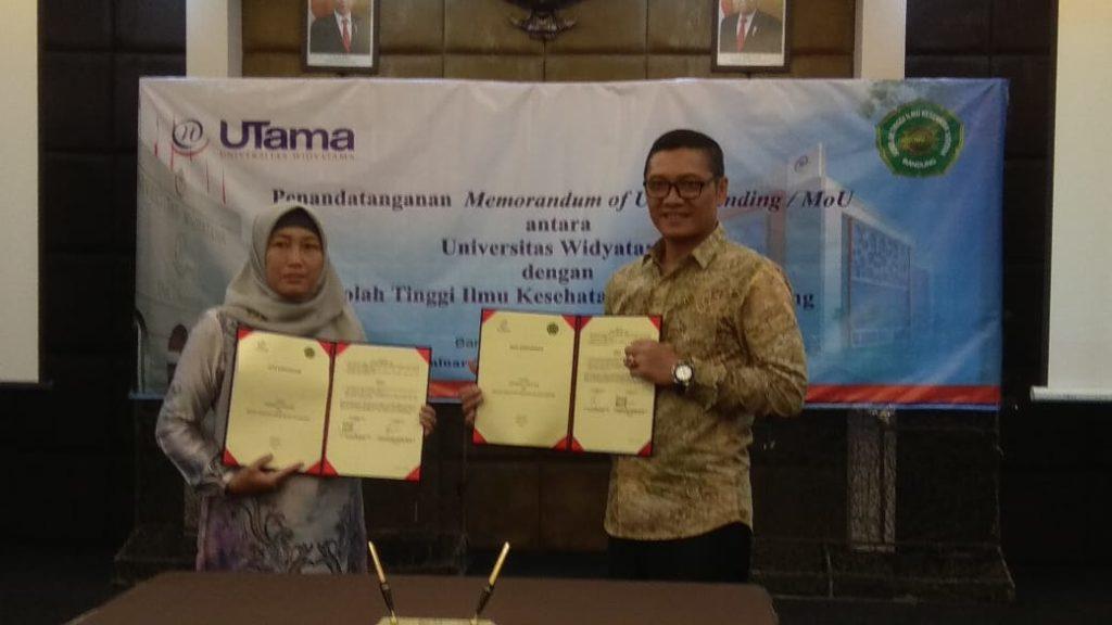 Tingkatkan Kualitas, STIKES Aisyiyah Bandung Melakukan MoU Dengan Universitas Widyatama