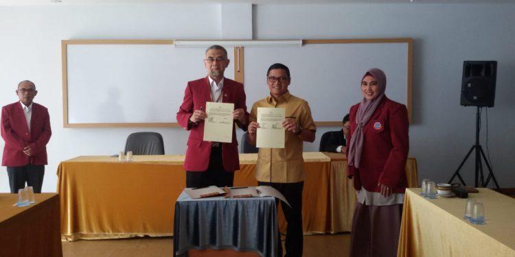 Agar Jurnal Internasional Dosennya Cepat Terbit USB YPKP Gandeng Prof Obi Rektor Widyatama