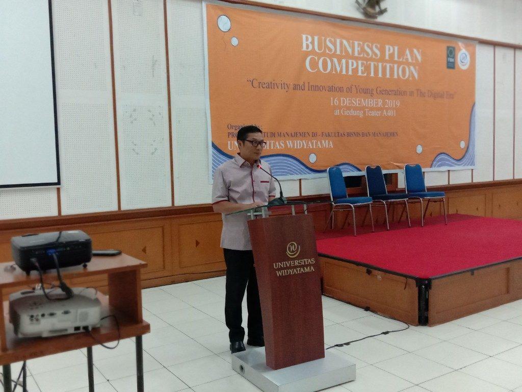 prof Obsatar Sinaga Rektor Universitas Widyatama 1024x768 1 1024x768 - SMAN 1 Cisarua, West Bandung Regency Successfully Won the Business Plan Competition at Widyatama University