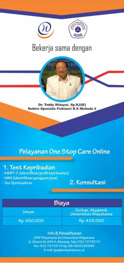 Pelayanan One Stop Care Online