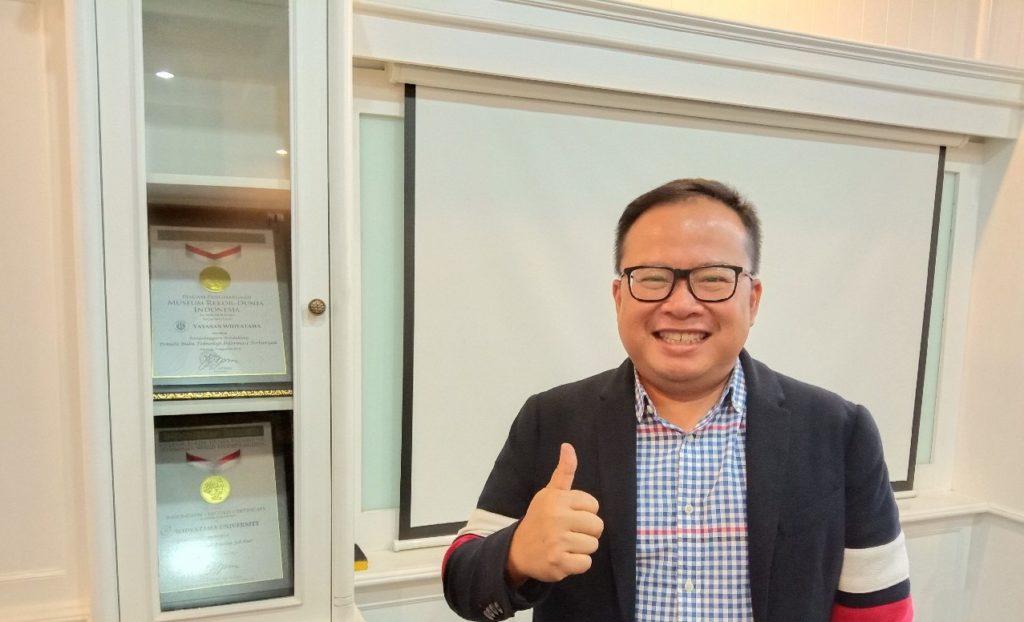 UTama Ranking 57, Djoko Roespinoedji Ketua Yayasan Widyatama: Itu Angka Istimewa