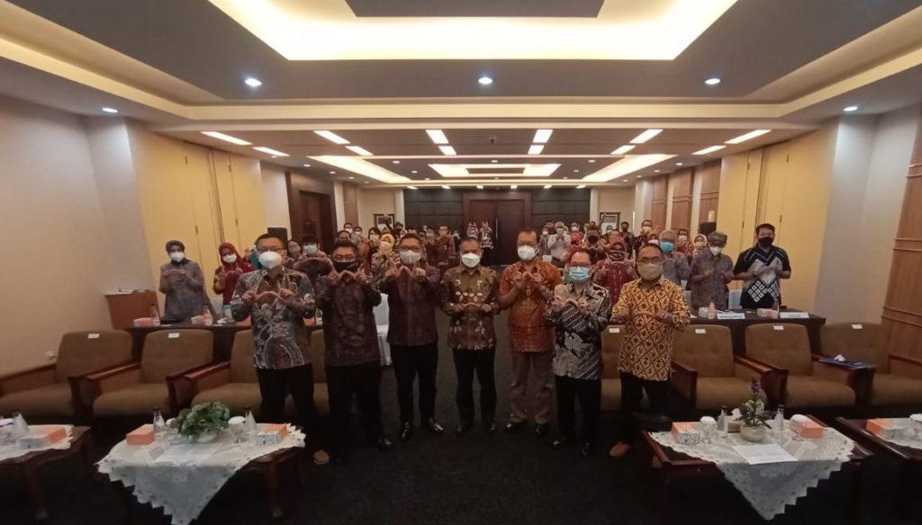 Target Bisa Mencapai Kampus Unggul Sekretaris  Dewan Eksekutif BAN-PT Diundang Ke Kampus UTama