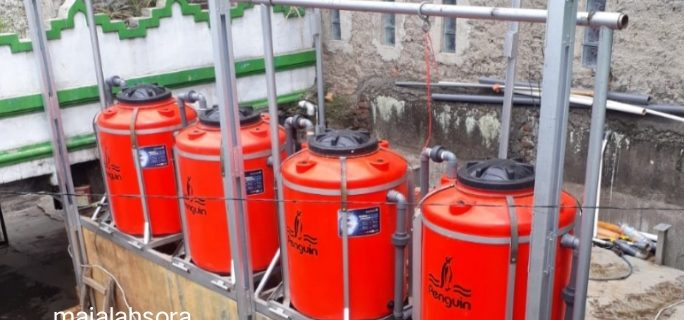 Air Bau Dan Keruh Warga Cimahi Selatan Bisa Teratasi Oleh Alat Penjernih Air Buatan Dosen Teknik Mesin UTama
