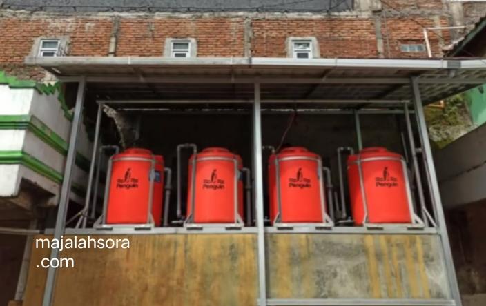 Udin Kaprodi Teknik Mesin Pengabdian kepada Masyarakat Universitas Widyatama 5 - Air Bau Dan Keruh Warga Cimahi Selatan Bisa Teratasi Oleh Alat Penjernih Air Buatan Dosen Teknik Mesin UTama