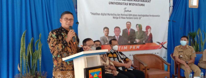 """Agar Potensi Bumdes, Ekonomi dan Pariwisata Di Parongpong KBB """"Meroket"""" Dosen Dan Mahasiswa UTama Lakukan PkM"""