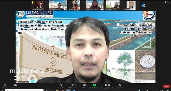 Teknik Sipil UTama Memberikan Solusi Untuk Mengatasi Masalah Drainase Di Komplek De Marakkesh Bandung