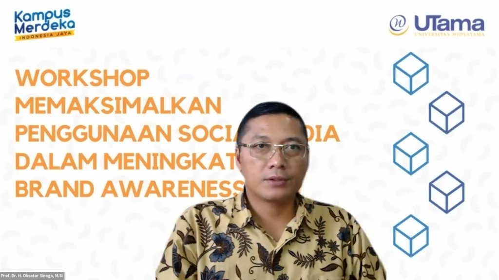 "Tingkatkan ""Brand Awareness"" Universitas Widyatama Adakan Workshop Optimalisasi Medsos"