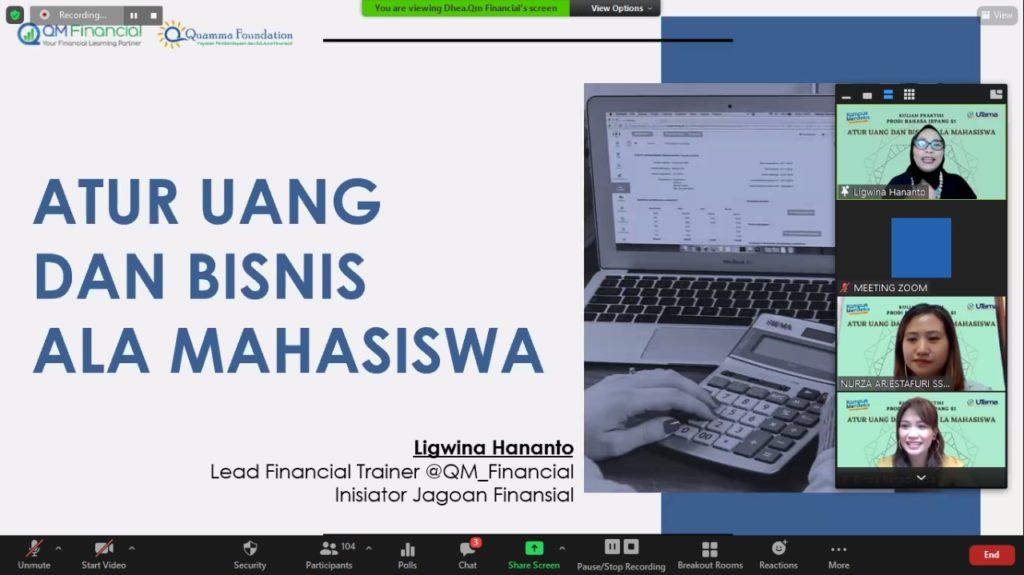 WhatsApp Image 2021 05 31 at 14.22.48 1024x575 - Tips Jitu Mengelola Uang Dan Bisnis Ala Mahasiswa Menurut Ligwina Hananto Pakar Finansial Ternama